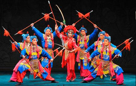 Lucent theater – PR Peking Opera