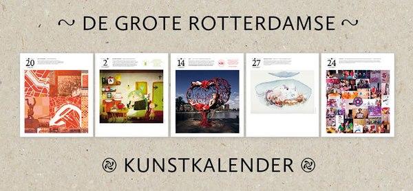 Studio Zi in de Grote Rotterdamse Kunstkalender