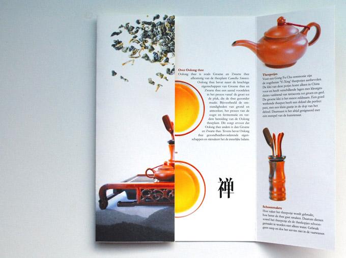 Flyer design / Tea House Oolong